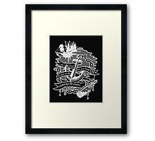 """Among the Waves"" Framed Print"