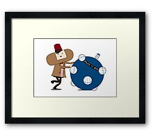 Katamari Is Cool Framed Print