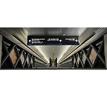 People Movers at Miami International Airport (MIA) in Florida Photographic Print