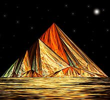 Pyramid Mountain by Pam Amos
