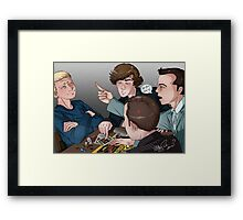 Cluedo Game Night Framed Print