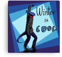 Winter is Cool! Canvas Print
