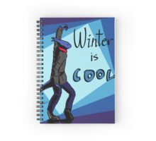 Winter is Cool! Spiral Notebook
