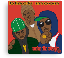 Black Moon - Enta Da Stage Canvas Print