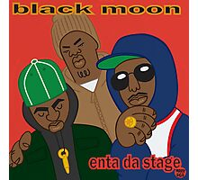 Black Moon - Enta Da Stage Photographic Print