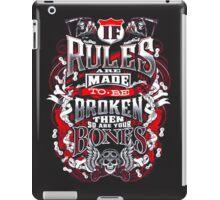 BIKER iPad Case/Skin