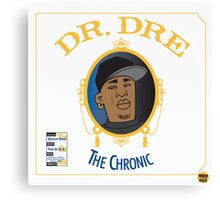 Dr Dre - The Chronic Canvas Print