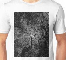 Washington map Columbia Unisex T-Shirt