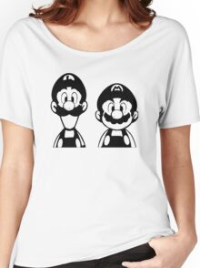 Mario & Luigi Women's Relaxed Fit T-Shirt