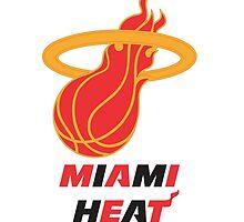 Gold Miami Heat by ardhilaks