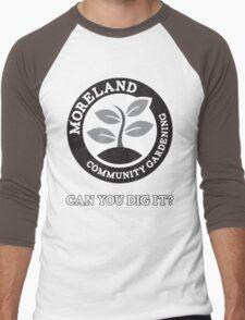 Moreland Community Gardening: Can you dig it? Men's Baseball ¾ T-Shirt