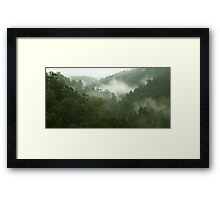 Images of Australia - Mt. Roland Framed Print