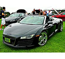 Ohhhh My Howdy What An AUDI! Photographic Print