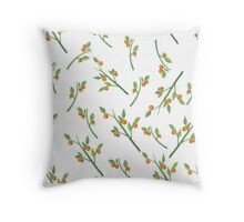 Orange Grove Throw Pillow