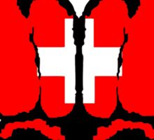 Swiss Fists Sticker