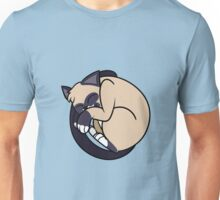 Curled Up Kitty 2 Unisex T-Shirt
