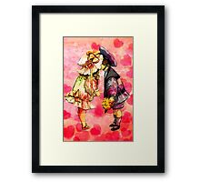 BE MINE! Framed Print