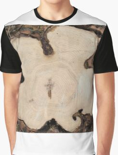 Top view of a cut tree Graphic T-Shirt