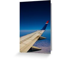Wing Side Seat Greeting Card