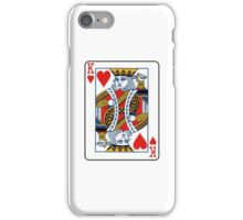 king of hearts iPhone Case/Skin
