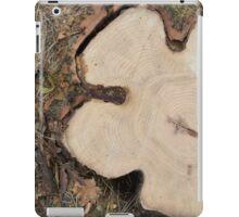 Top view of a big cut tree iPad Case/Skin