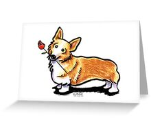 Corgi Sweetheart Greeting Card