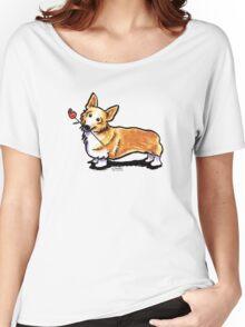 Corgi Sweetheart Women's Relaxed Fit T-Shirt