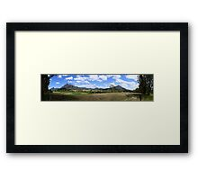 Mount Barney Panorama Framed Print