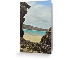 Beach Art- by original beachscapes Greeting Card