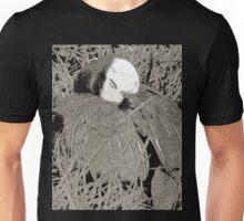 Sleeping Goose Among Grass Unisex T-Shirt