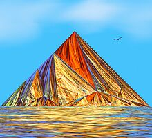 Pyramid Mountain No 2 by Pam Amos