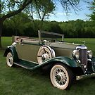 1932 DeSoto SC Custom Convertible by TeeMack