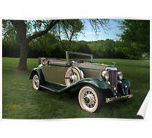 1932 DeSoto SC Custom Convertible Poster
