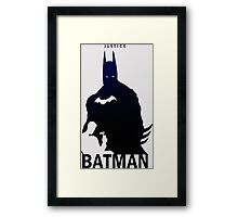 Cool Badman Design Art Framed Print