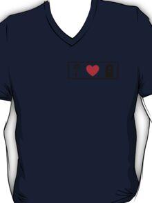 I Heart Beauty and The Beast (Classic Logo) T-Shirt