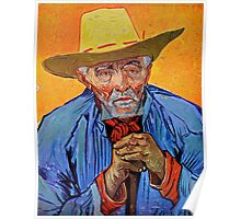Old Provençal Peasant by Van Gogh Poster