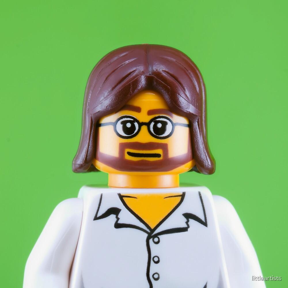 John Lennon Portrait by littleartists