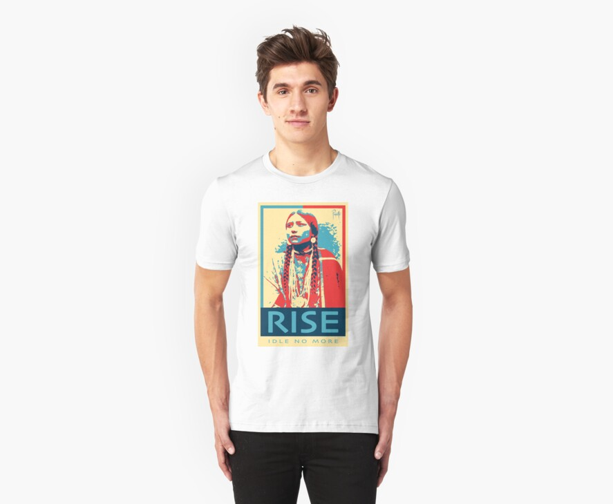 RISE - Idle No More - by Aaron Paquette by Halfbreed