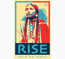 RISE - Idle No More - by Aaron Paquette Unisex T-Shirt