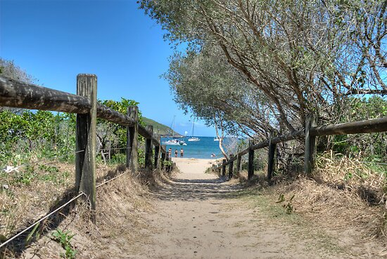Pathway to Paradise (1) by Adrian Paul