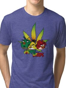 Happy Birds Tri-blend T-Shirt