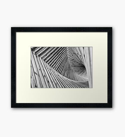 The Spiral Framed Print