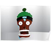 cartoon skull character  Poster