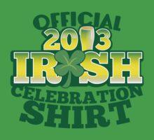 Official 2012 Irish celebration shirt by jazzydevil
