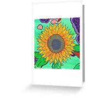 Sarah's Sunflower Greeting Card
