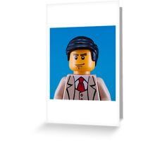 Alan Turing Portrait Greeting Card