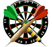 The dartboard by Gertot1967