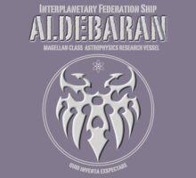 Interplanetary Federation Ship Aldebaran Kids Clothes