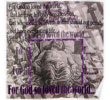 For God so Loved the World Poster