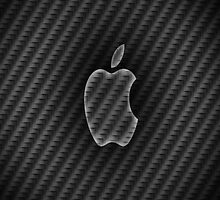 Carbon fibre apple case by jeveli